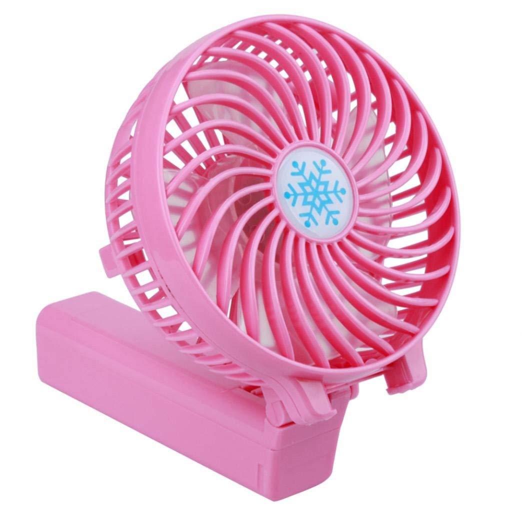 Belloc Mini Fan Portable Hand held Cooling Fan for Travel Beach Office Home School