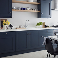 Matt lacquer Italian Kitchen Cabinets Direct From China