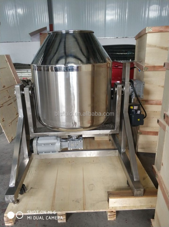 China Supplier hot sale rotating drum powder mixer for tea