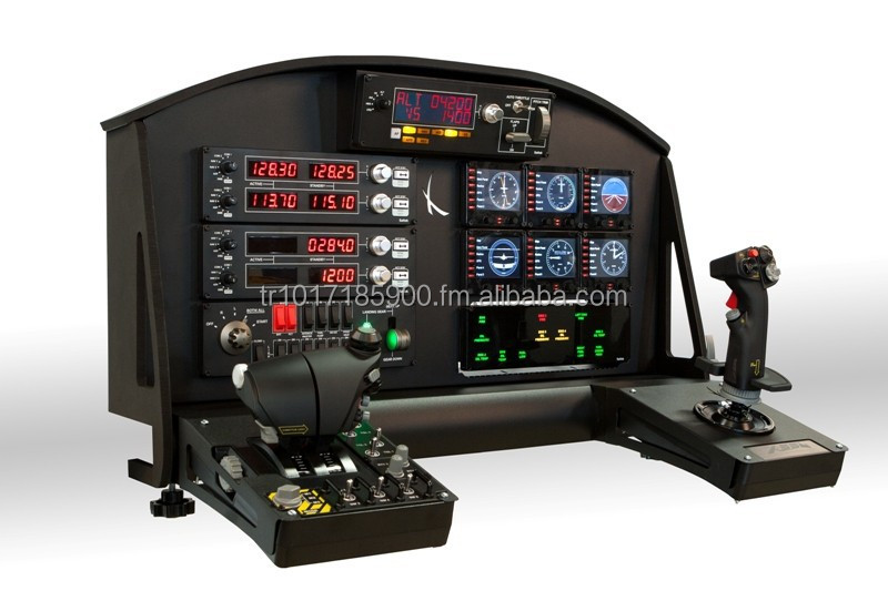 Painel MyTop Flight Black for Home Simulator compatível com X52 e X55