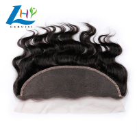 Hot Sale Real Cuticle Aligned Raw Virgin Mink Brazilian Human Hair transparent lace frontal 13x4 Body Wave Lace Frontals