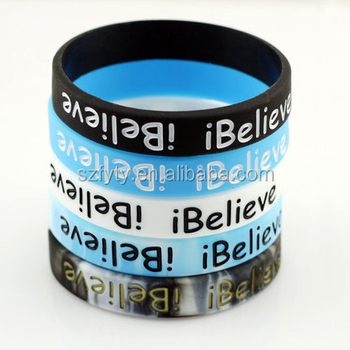 Greatness Fitness Workout Silicone Wristbands Rubber Bracelets