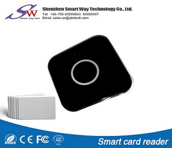 Smart CPU 13.56mhz MF rfid nfc card contact reader writer