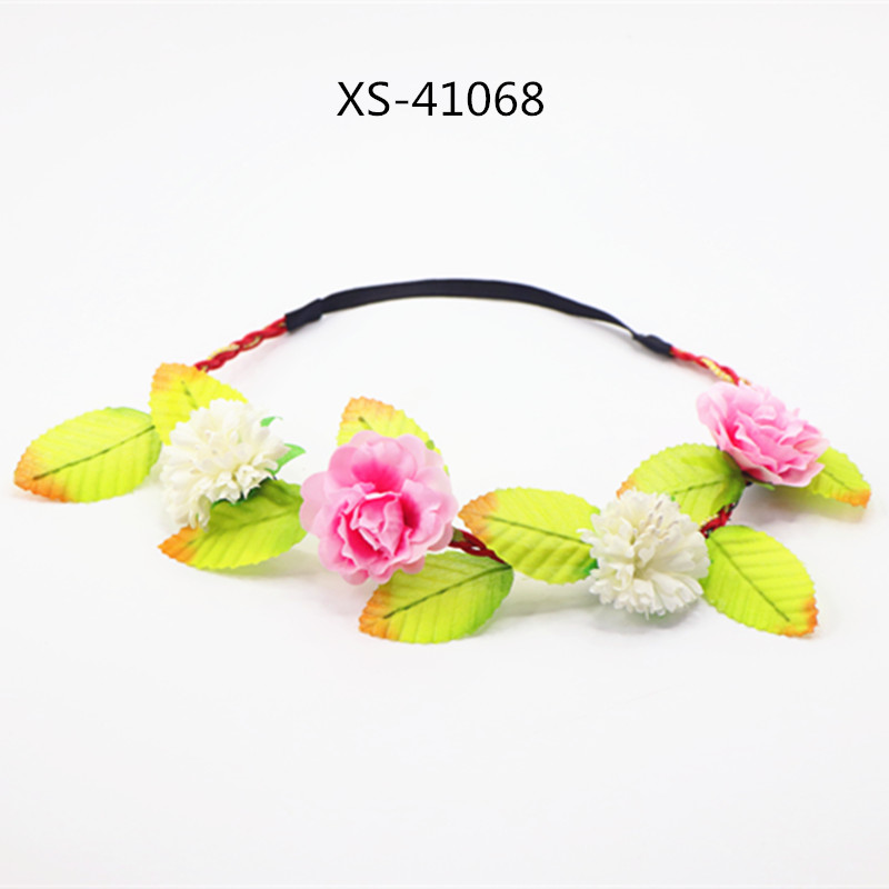 Bridal Headwear Wedding Accessories Long Light And Shiny Led Flower Floral Hairband Garland Crown Glowing Wreath Vines Headband #6 Sales Of Quality Assurance