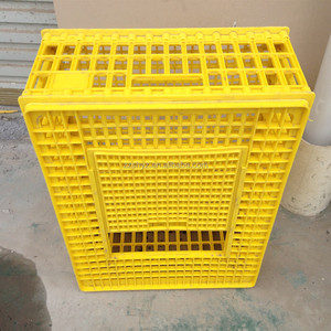 2016 best selling Plastic live chicken transport cage
