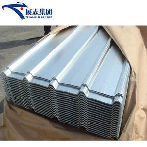 High Strength 760 Type Blue Color Zinc Coated Corrugated Steel Roofing Sheets