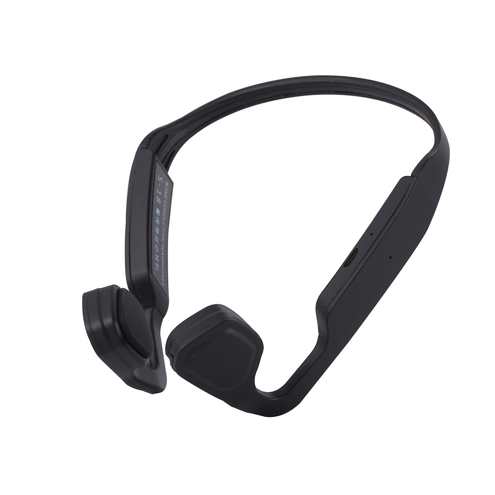 Wireless outdoor sport bone conduction hearing aids new BT call center headset
