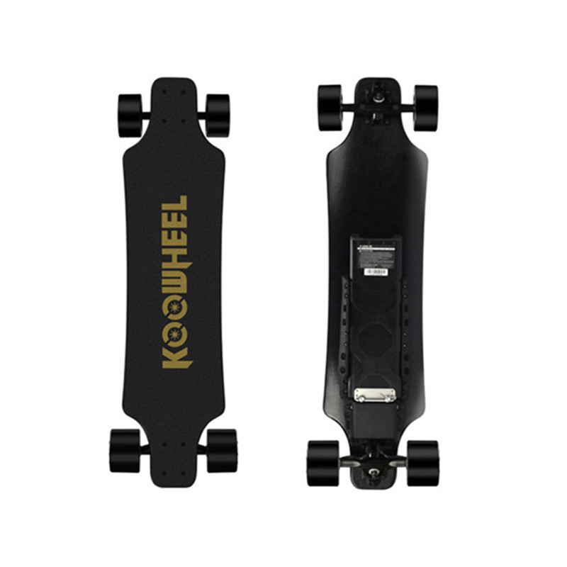 New Koowheel boosted dual hub motor electric longboard skateboard with replaceable wheels 42km/h