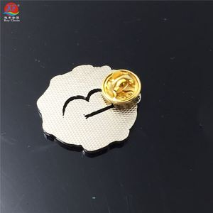 Professional Made Zinc Alloy Blazer Pocket Badge Embroidered