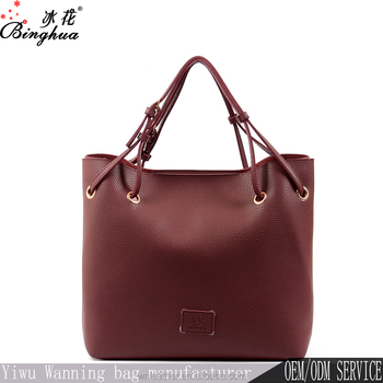7dbaf90df26f Yiwu Professional Manufacturer Wholesale Price Tote Bag Pu Leather Hand Bag  Women Made In China - Buy Hand Bag Women