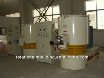 high-speed mixer for plastic powder and toner