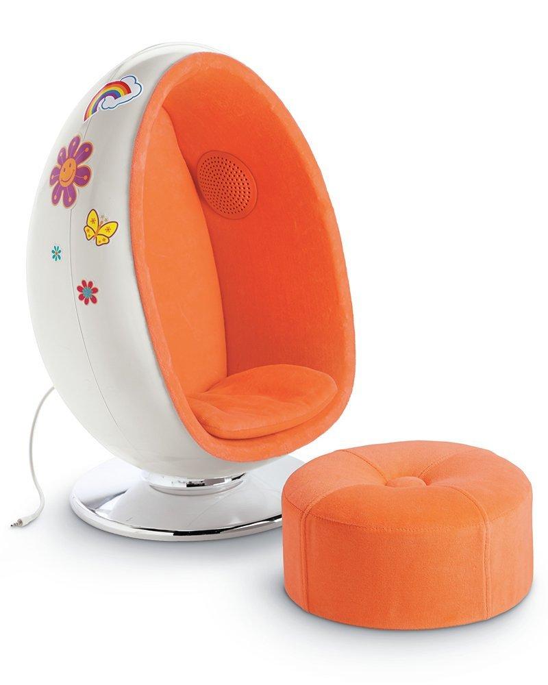 American Girl Julie's Egg Chair Set