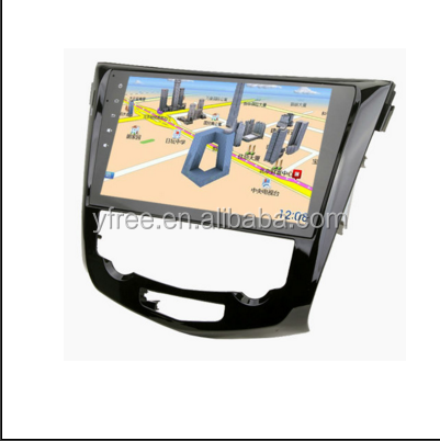 touch screen car dvd player for nissan x-trail radio navigation android gps auto central multimedia 2 double din stereo