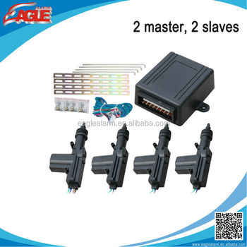 Super Quality 2 Masters 2 Slaves Center Lock For Car With Big