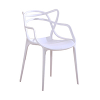 Discount cheap dining room white polypropylene colored plastic stackable chair white outdoor