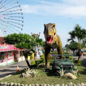 Animatornic dinosaur theme park for outdoor decoration