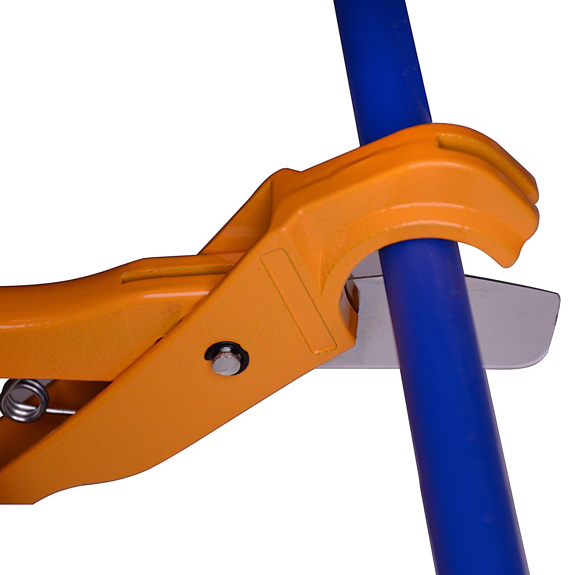 """Flui-PRO Pex Tube Cutter - Cuts pex tubing pipe up to 1-inch in diameter (1/4"""", 3/8"""", 1/2"""", 3/4"""", 1"""")"""