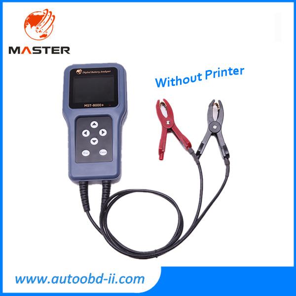 Бесплатная доставка DHL автомобильный аккумулятор тестер MST 8000 MST8000 цифровой анализатор батарей с встроенный MST-8000