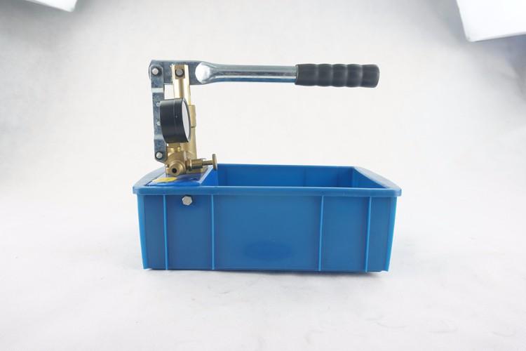 SY-25AX Hydraulic Short Brass Pump Body Hand Pressure Test Pump