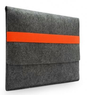 Good quality wool felt laptop bottom case for dell vostro 5470 for women