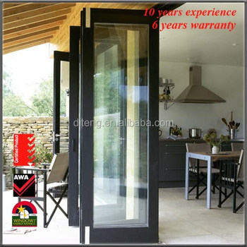 Bifold accordion metal double doors exterior french for Exterior french door manufacturers