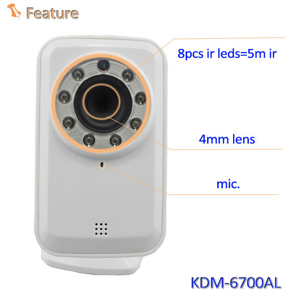 Wifi indoor 300k pixel plug and play mini hd digital video camer !!!