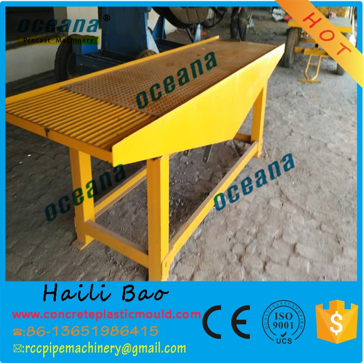 shanghai oceana electric shaking table concrete vibration equipment for cement