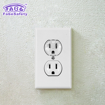 Fabe hot baby safety products electronic protector plug 34x34cm clear outlet plugs baby proof