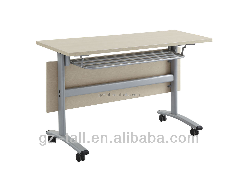 Sala de juntas en movimiento training table madera peque a for Mesa plegable pequena