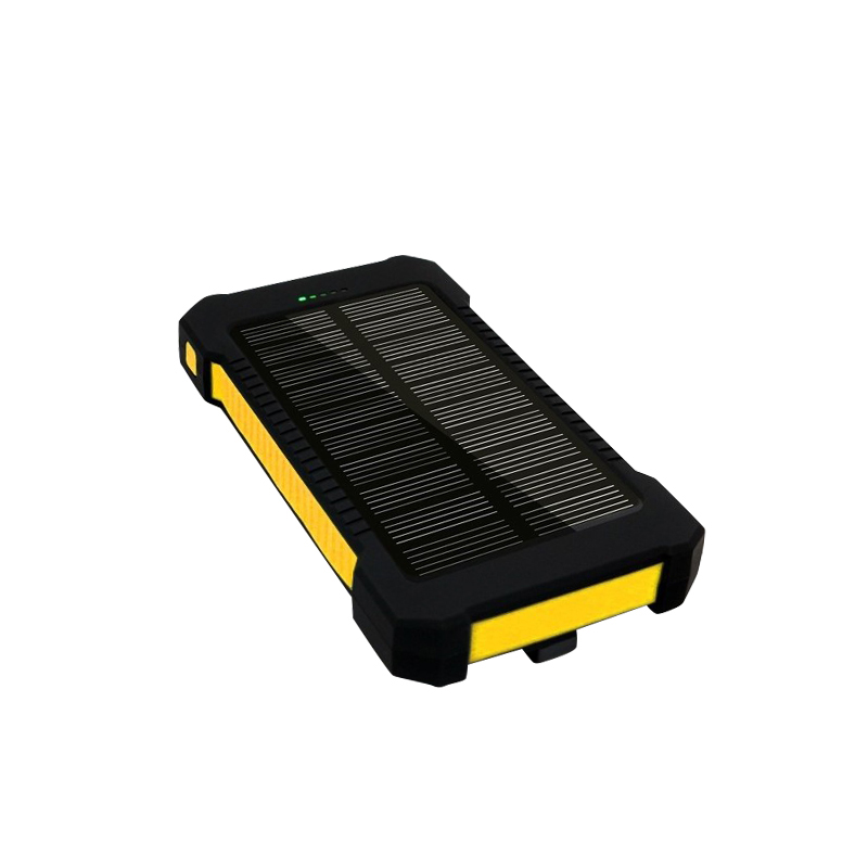 Waterproof Mini Menu outdoor Portable Solar Power Bank Charger