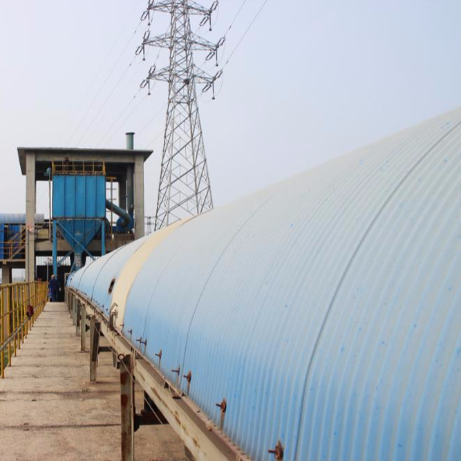 Special Raw Coal Belt Conveyor With Anti-rain cover If need