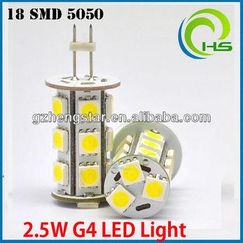 Ed Light G4/10-30 Volt G4 Led Lights/g4 27 Smd 5050 Led G4 Bulb ...