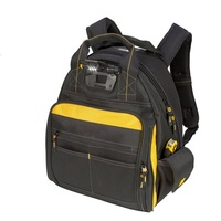 Free Tax Bags Factory In Myanmar 57-Pockets Lighted backpack tool bag polyester 1680D high quality bags