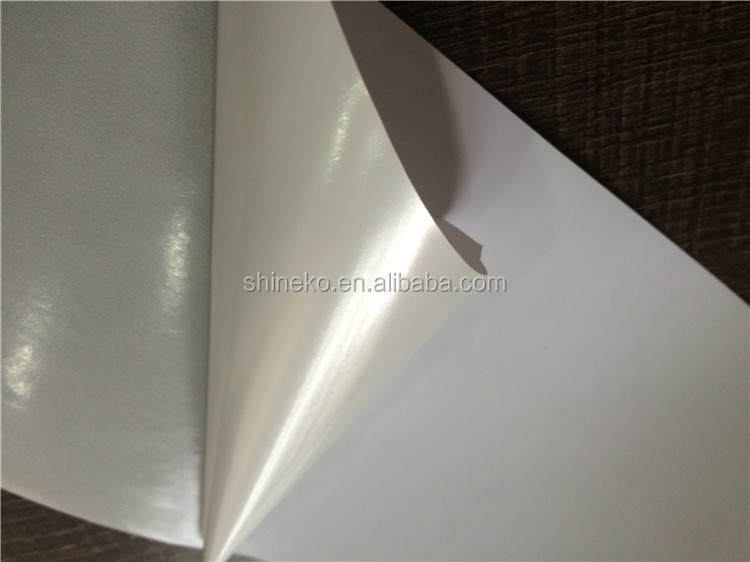 Matt white PP self-adhesive paper <strong>rolls</strong> for memjet waterproof film