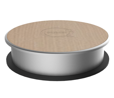 Special design qi charger furniture wireless charger for furniture/desktop/coffee house