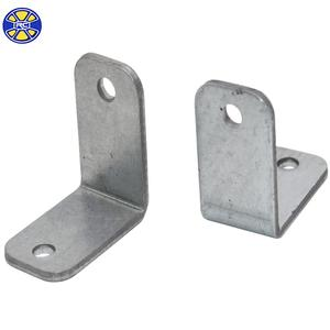Stamped Custom L Shape Galvanized Steel Angle Bracket for Furniture