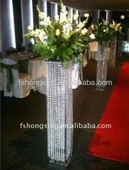 Lq103 Pillar Light Wedding Flower Stand Aisle