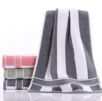 100% cotton cabana stripe beach towels wholesale bulk