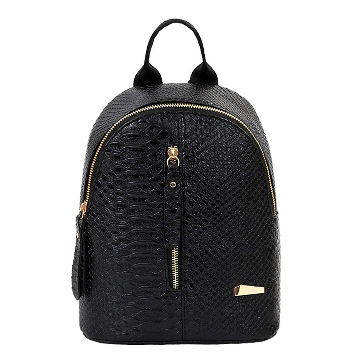 Liraly Gift Bags,Clearance Sale! Women Fashion Leather Backpacks School Bags Travel Shoulder Bag Cell Phone Bags