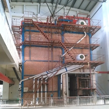 Power plant biomass steam boiler rated 150 ton/h