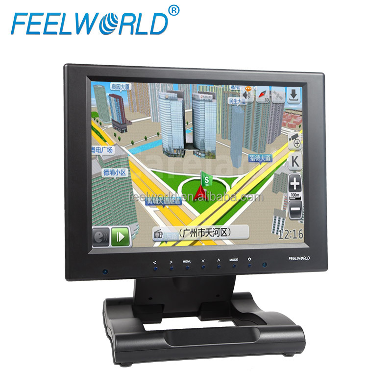 Feelworld 10inch Touch Screen Monitor with YPbPr DVI & HDMI inputs USB Touch