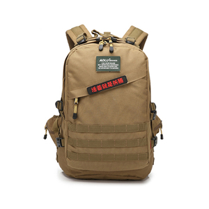 Camo tan back bag military bag pack assault backpack military tactical molle backpack army hiking rucksack