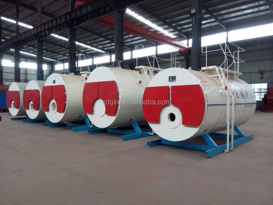 Industrie Horizontale 4 Tonnen Altöl,Erdgas,Lpg Brennen Dampfkessel ...