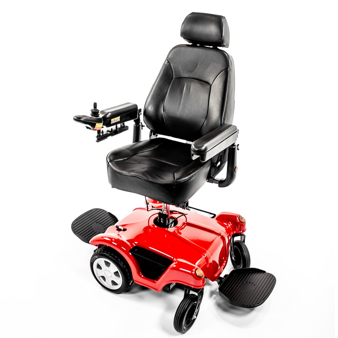 Merits P312 FWD/RWD Dual Base TurnAbout Powerchair with Elevated Power Seat