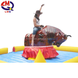 Mechanical amusement equipment bull fight park rides crazy bull fight for sale