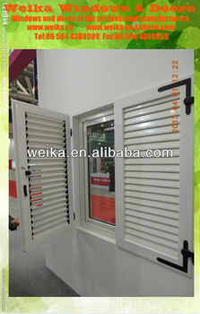 new design CONCH pvc doors and windows designs