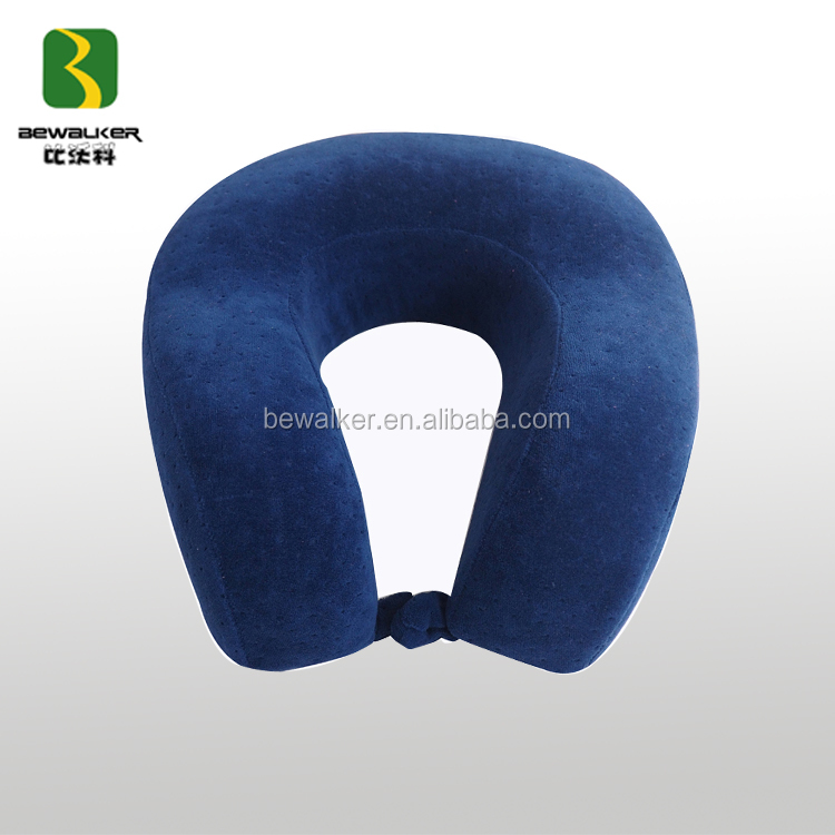 Safe And Comfortable Memory Foam Travel Neck Pillow