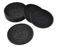 bulk antislip hot pan plate coaster silicone spot cup mat rubber manufacturer wine bottle coaster