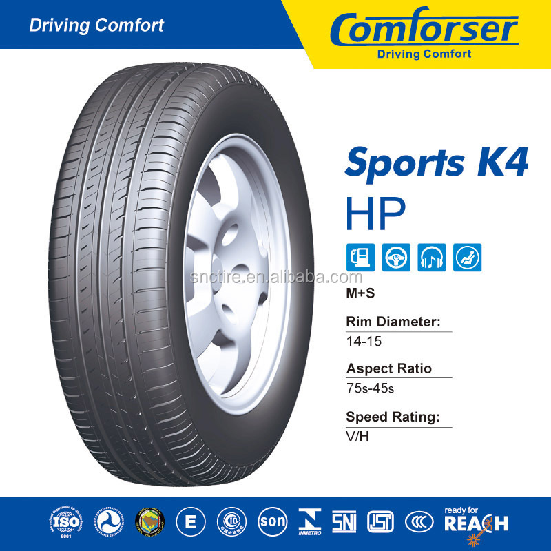 China Suppliers Comforser Car Tires Sports K4 Passenger Car Tire ...