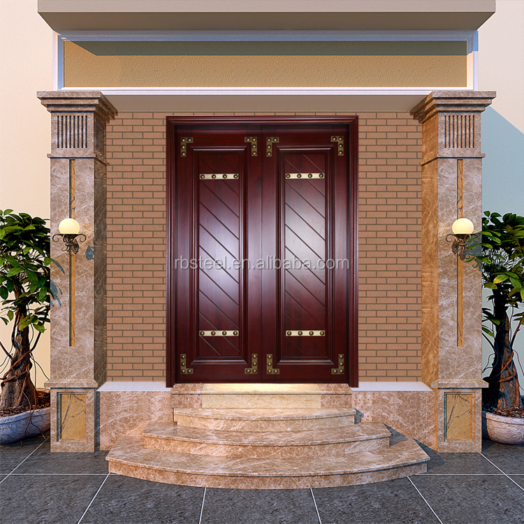 Luxury main door wood carving design carved wooden dorr for Main door design photos india